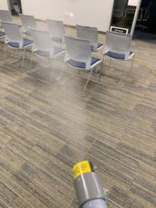 COVID-19 Virus Fogging Cleaning Santa Clarita California